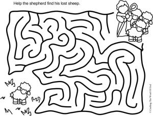 The Lost Sheep Puzzle