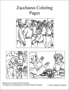 zacchaeus-coloring-pages