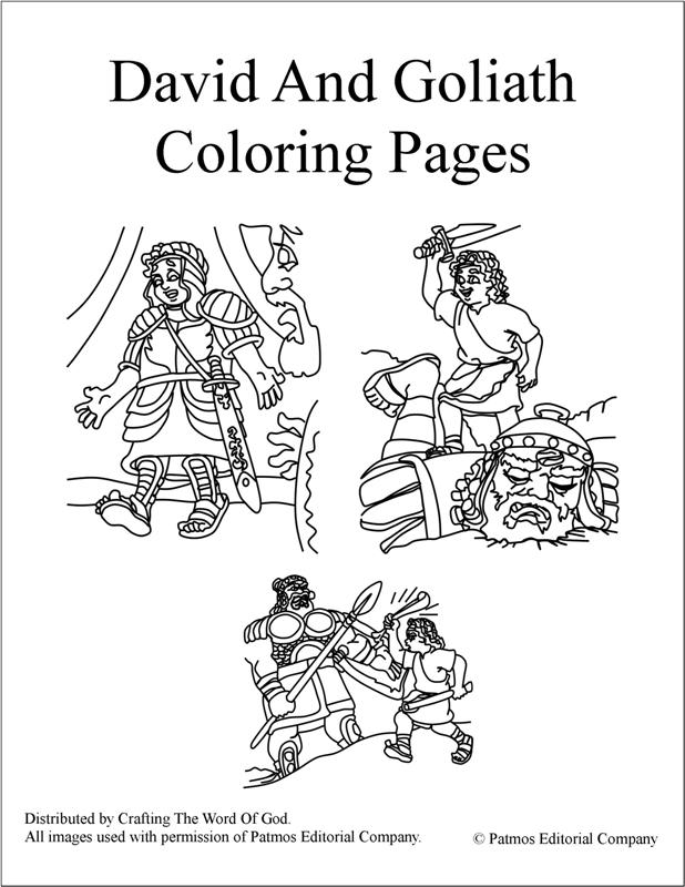 David and goliath coloring pages crafting the word of god for David and goliath coloring pages for preschoolers