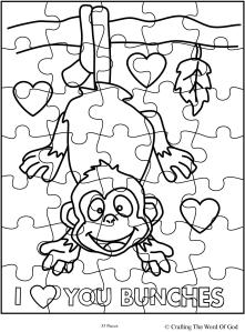 I Love You Bunches Puzzle