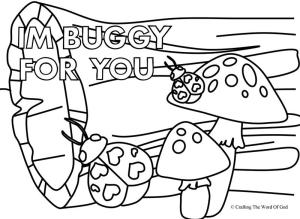 Im Buggy For You 2 Coloring Page