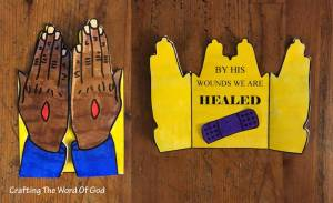 By His Wounds We Are Healed Card