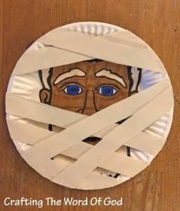 Paper Plate Lazarus