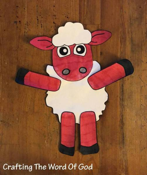 THe Lost Sheep Puppet