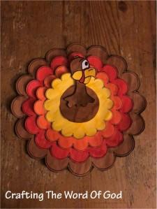 Thanksgiving Circle Turkey
